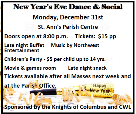 New Year's Eve Dance & Social