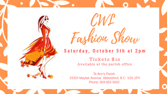 CWL Fashion Show